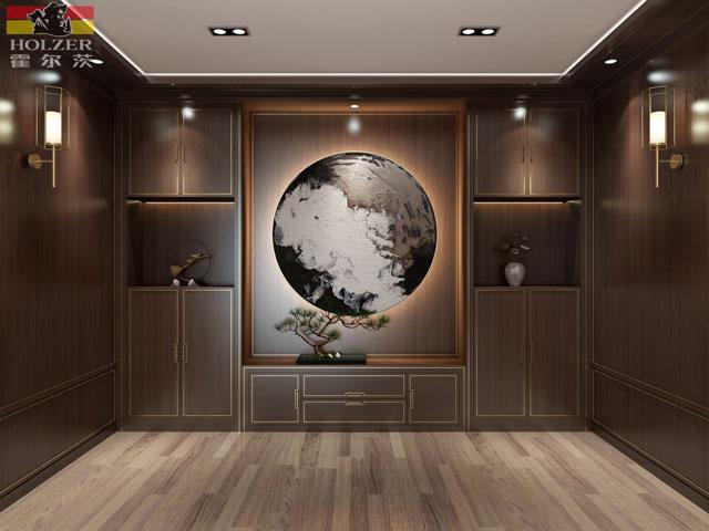新中式木门与家具,首选霍尔茨!