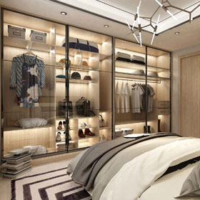 霍尔茨全屋定制 卧室柜