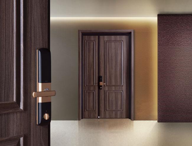 霍尔茨入户装甲门丨用色彩玩转家居生活
