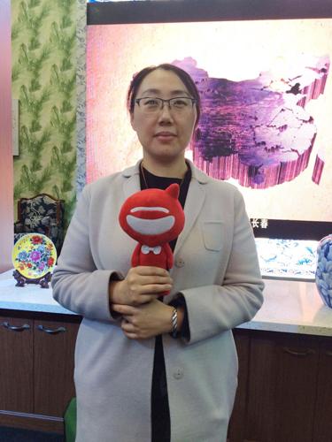 霍尔茨市场部总经理杨旭