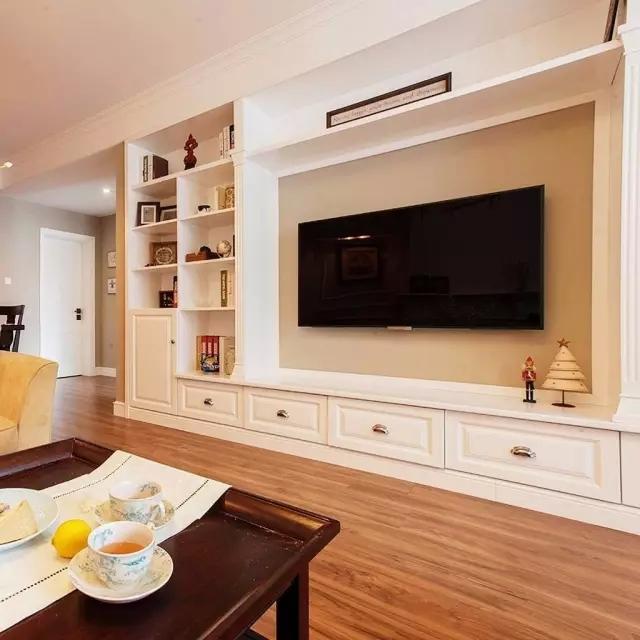 可收纳的电视背景墙!_北京霍尔茨门业股份有限公司.茨